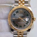 Đồng hồ Rolex Date just 116333 Mặt số Wimbledon