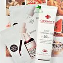 Thay da sinh học Red Peel + Chống nắng Cell Fusion C Laser Suncreen 100 SPF 50+ PA+++