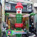 rối hơi, mascot quảng cáo 0868586266