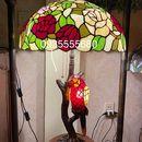 Giao Lưu Em Đèn Tiffany Họa Tiết Chim Vẹt.