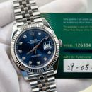 Đồng hồ Rolex Date Just 126334 mặt xanh , size 41mm NEW