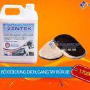 [COMBO] Bàn xoa lông cừu và dung dịch rửa xe bọt tuyết Ventek 5 lít