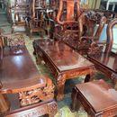Bộ salon tay 12 gỗ Tràm tự nhiên cao cấp