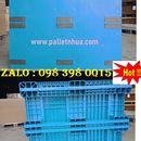 Pallet nhựa kết cấu lõi thép 5000kg
