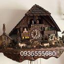Giao lưu e đồng hồ cuckoo của Đức nhiều hoạt cảnh
