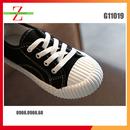 Giày Thể Thao Cho Trẻ Em Giày Vải Mũi Vỏ Sò Size 26-36