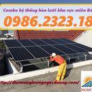 lắp đặt hệ thống điện năng lượng mặt trời hòa lưới 7.3kw 3 pha, báo giá hệ thống điện hòa lưới
