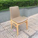 Ghế cafe chân gỗ bọc nệm simili cũ