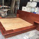 Giường gỗ 2m cũ tồn kho thanh lý giá rẻ