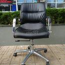 Bán rẻ ghế trưởng phòng bọc da chân inox cũ