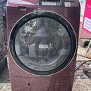 Máy Giặt HITACHI BD-ST9600R giặt 10kg, Sấy 6kg, Cảm ứng, chống nhăn, Heat Recycle, date 2014