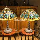 Giao lưu đôi đèn tiffany hoạ tiết cổ hàng Đức