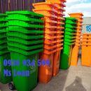 Thùng rác công cộng 240 lít nắp kín,thùng rác nhựa 240 lít