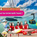 Vé máy bay đi Phú Quốc tháng 7 giá rẻ
