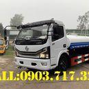 Xe bồn DongFeng 5 khối. Giá bán xe bồn DongFeng 5 khối chở nước nhập khẩu 2021