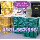 Thùng rác Y tế 25L, thùng rác Y tế 30L, thùng đựng chất thải sinh học