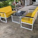 bàn ghế sofa phòng khách khung sắt giá siêu rẻ