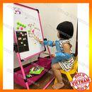 Bảng học tập cho bé, Bảng viết hai mặt kèm quà tặng, bảng vẽ đa năng gập gọn