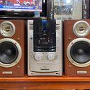 Bộ dàn trung Sony MD555 và loa Pioneer