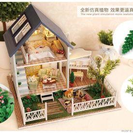 100 mẫu Mô Hình Nhà Gỗ DIY Handmade update 05.2017