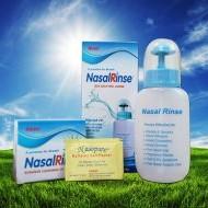 Bình rửa mũi Nasal Rinse và Rinorine phòng ngừa và hỗ trợ điều trị viêm mũi viêm xoang