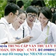 Trường Trung cấp VĂN THƯ LƯU TRỮ Hà Nội dạy cấp tốc Bằng Trung cấp, Chứng chỉ ngắn hạn