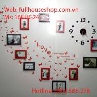 Bộ khung ảnh treo tường đa dạng tại fullhouseshop.com.vn
