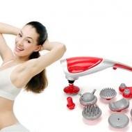 Đai massage giảm béo, đai rung quấn nóng giảm mỡ bụng, máy rung lắc giảm béo