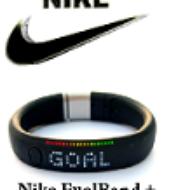 Vòng Đeo Tay Thể Thao Thông Minh Nike FuelBand Giá Sock