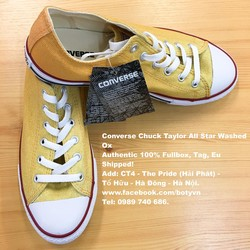 Converse Chuck Taylor All Star Washed Ox Authentic 100% Fullbox, Tag, Eu Shipped