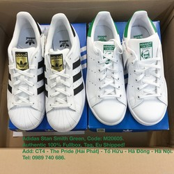 Adidas Stan Smith Green Small Authentic 100% Fullbox, Tag, Eu Shipped.