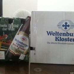 Giảm giá 75% hơn chục thùng bia Đức nhập khẩu