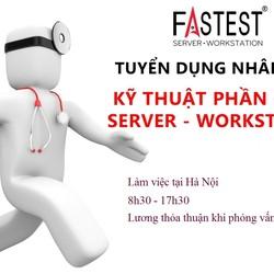 Tuyển dụng Nhân viên kỹ thuật phần cứng Server Workstation Hà Nội