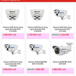 Lắp đặt camera giá rẻ trọn gói, bao xài, bao bảo trì