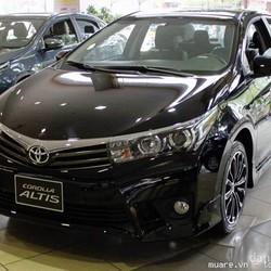 Bán Xe Toyota Altis 2.0 Hỗ Trợ Giảm Giá Đến 70% Lệ Phí Trước Bạ.