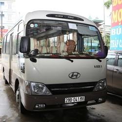 Cần bán xe Huyndai County Đồng Vàng 29 chỗ đời cuối năm 2009 chính hãng, biển Hà Nội.