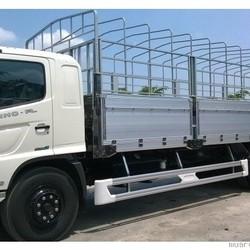 Xe tải Hino 15 tấn thùng mui bạt nhôm thùng dài 9m2