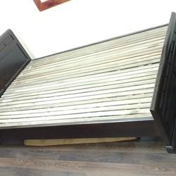 thanh lý giường gỗ 1m2 tủ kệ TV