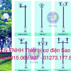 Cột đèn NOUVO chiếu sáng sân vườn,đô thị bền đẹp giá cạnh tranh
