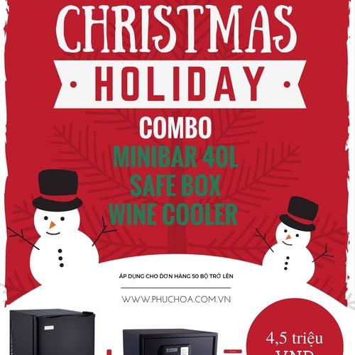 Khuyến mại combo tủ lạnh mini và két điện tử mini